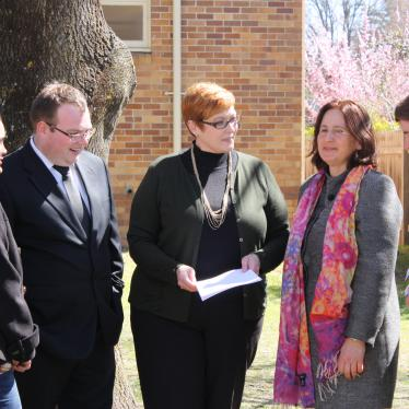 Senator Payne with the Armidale Dumaresq Council Liberal team