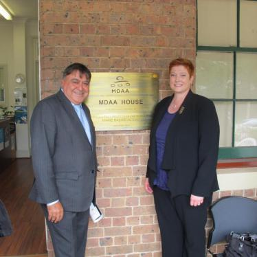 Multicultural Disability Advocacy Association (MDAA) House official opening in Granville