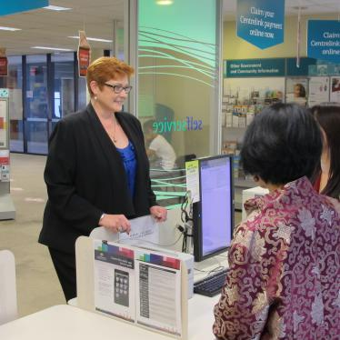 Marise visits the Cabramatta DHS Service Centre on Lunar New Year