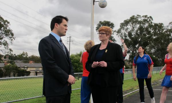 $100,000 boost for netball courts in Blacktown