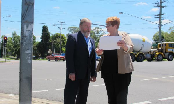 $108,500 for safer roads in Merrylands