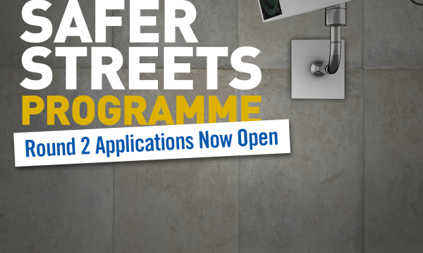 Safer Streets Round 2 to help communities increase safety, reduce crime